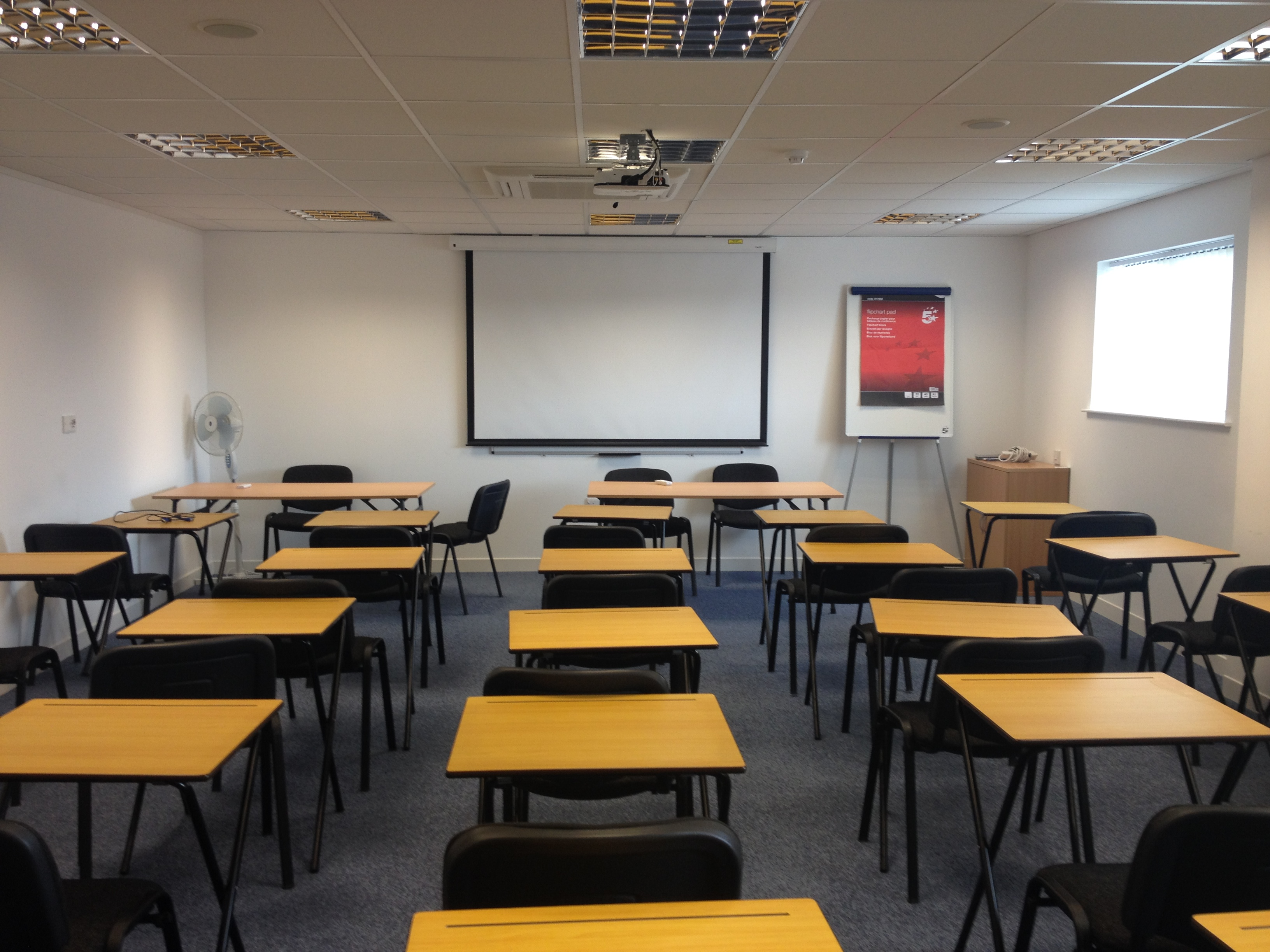 Pre-Reg training room